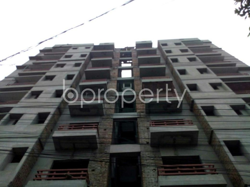 Front view - 3 Bed Apartment for Sale in Bagichagaon, Cumilla - 1897997