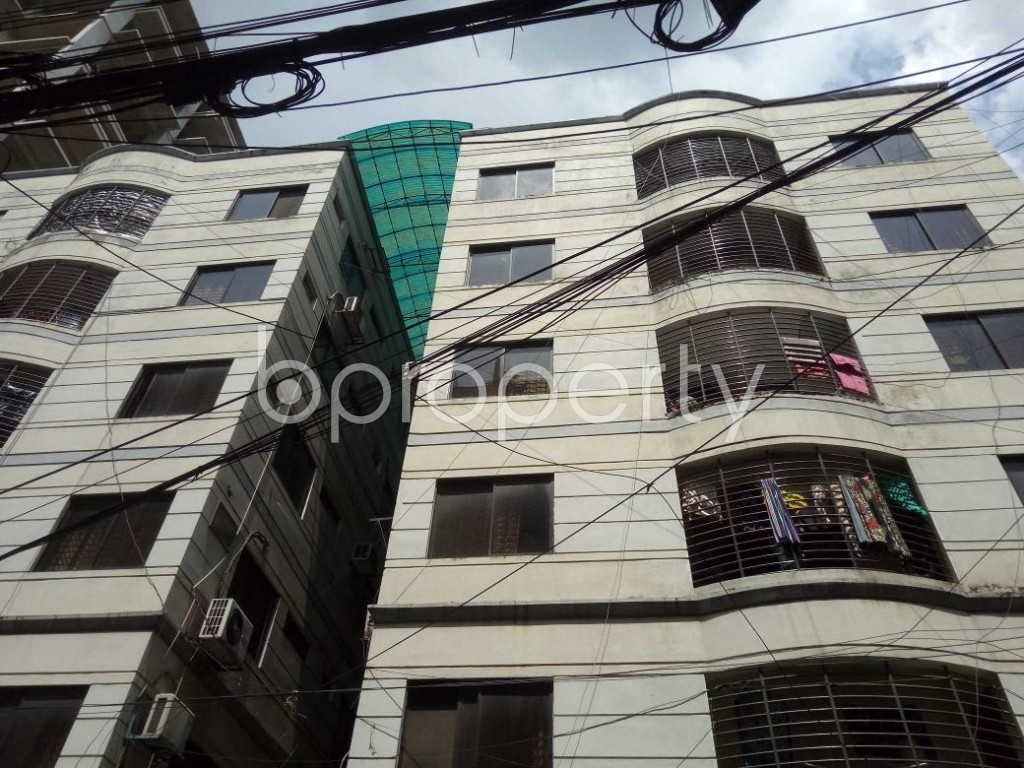 Front view - 3 Bed Apartment for Sale in Gulshan, Dhaka - 1898323