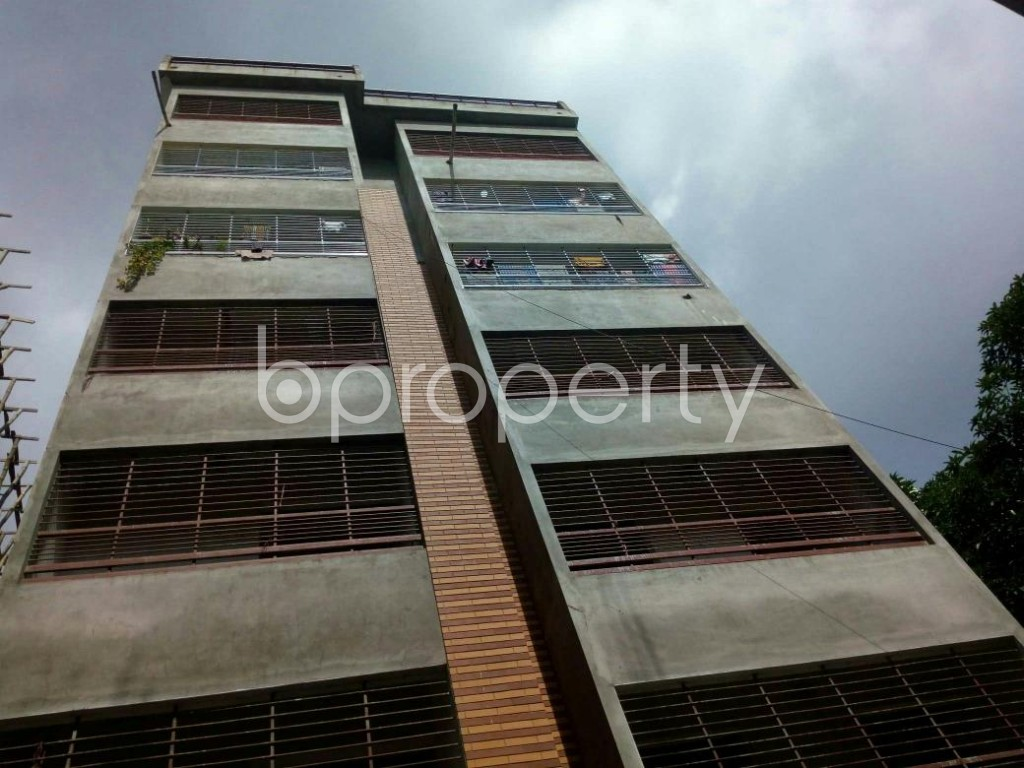 Front view - 3 Bed Apartment for Sale in Khulshi, Chattogram - 1898469