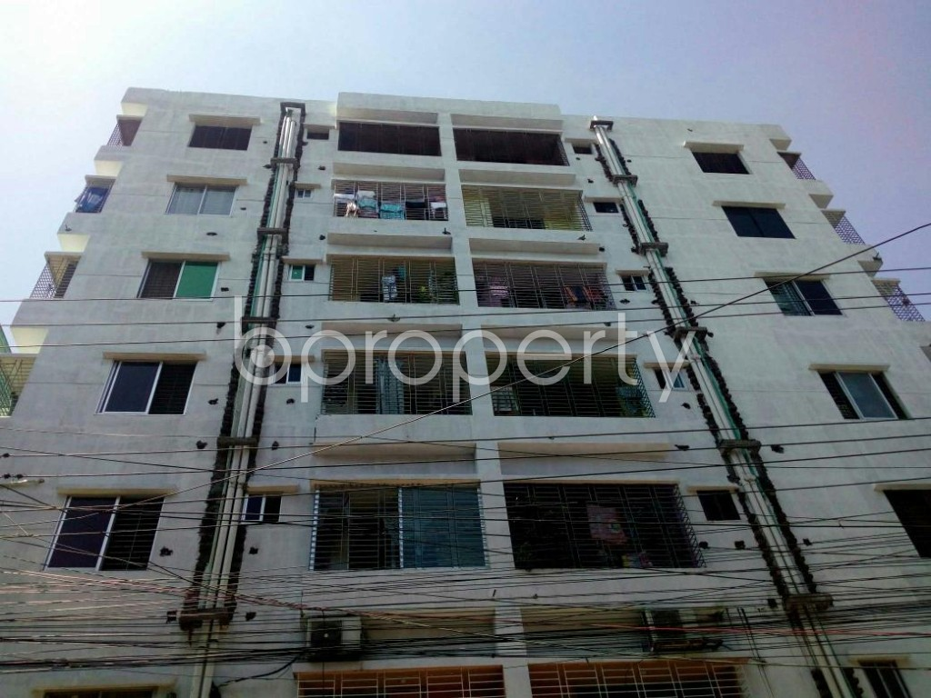 Front view - 3 Bed Apartment for Sale in Double Mooring, Chattogram - 1898520