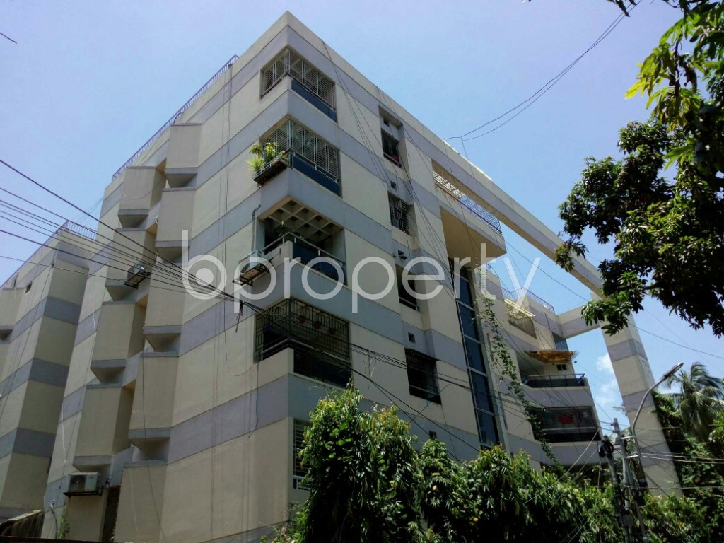 Outside view - 3 Bed Apartment to Rent in Dhanmondi, Dhaka - 1899011