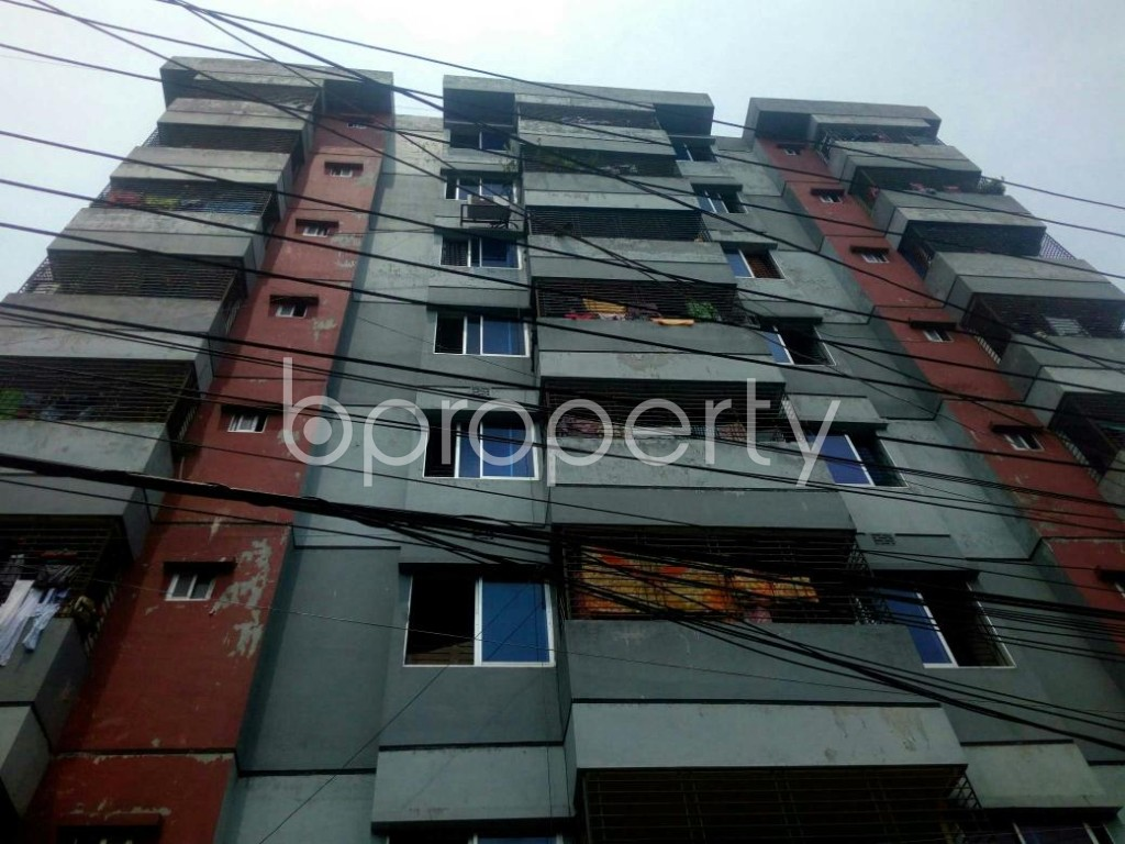 Front view - 3 Bed Apartment for Sale in Jatra Bari, Dhaka - 1899056