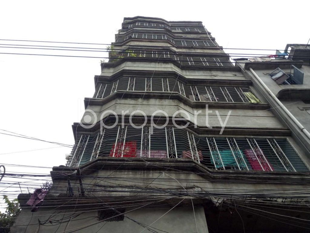 Front view - 3 Bed Apartment for Sale in Bangshal, Dhaka - 1899168