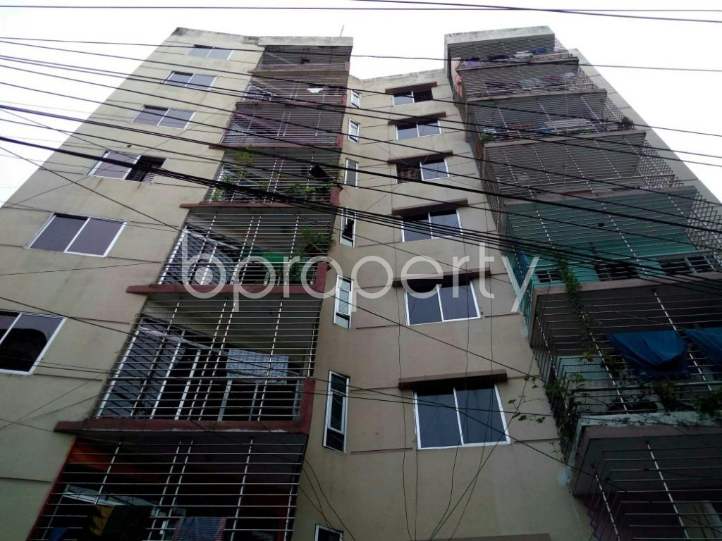 Front view - 3 Bed Apartment for Sale in Dhanmondi, Dhaka - 1899752