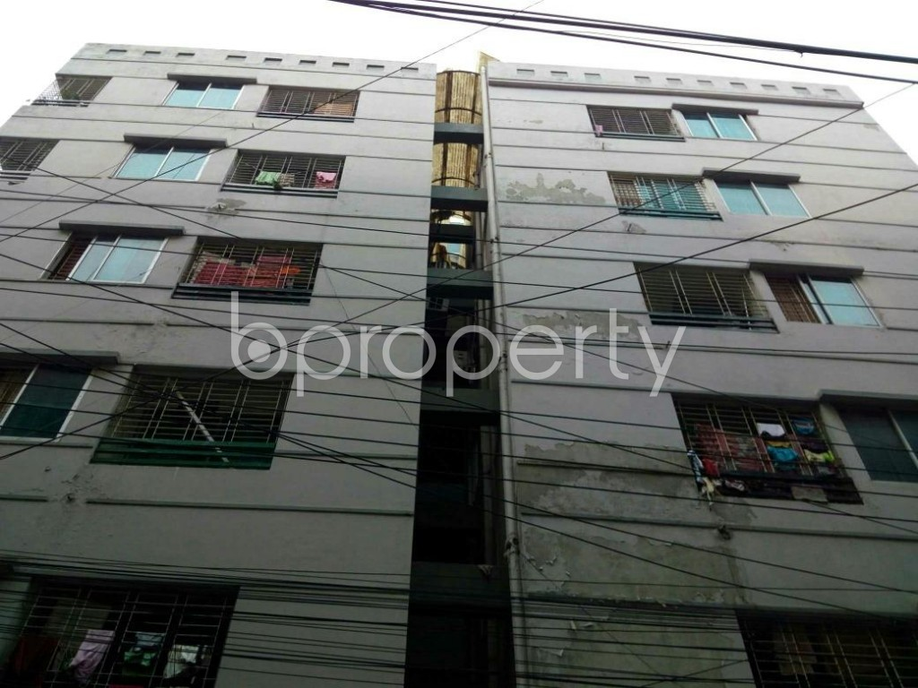 Front view - 3 Bed Apartment for Sale in Dhanmondi, Dhaka - 1899758