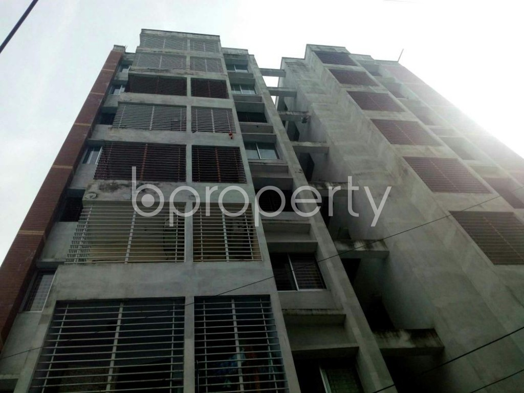 Front view - 3 Bed Apartment for Sale in Khulshi, Chattogram - 1899817