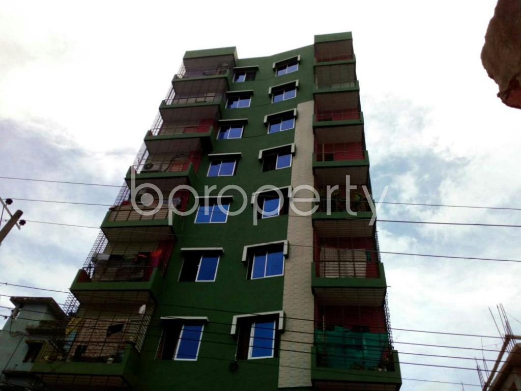 Front view - 3 Bed Apartment for Sale in Double Mooring, Chattogram - 1900068