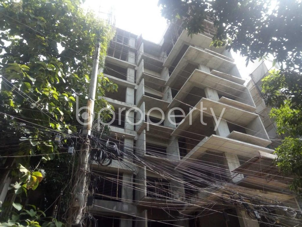 Front view - 3 Bed Apartment for Sale in Uttara, Dhaka - 1900491