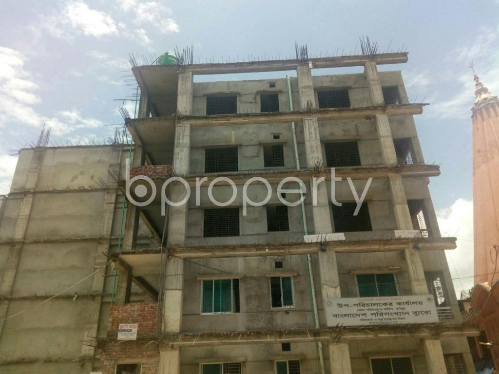 Front view - 3 Bed Apartment to Rent in Bagichagaon, Cumilla - 1900819