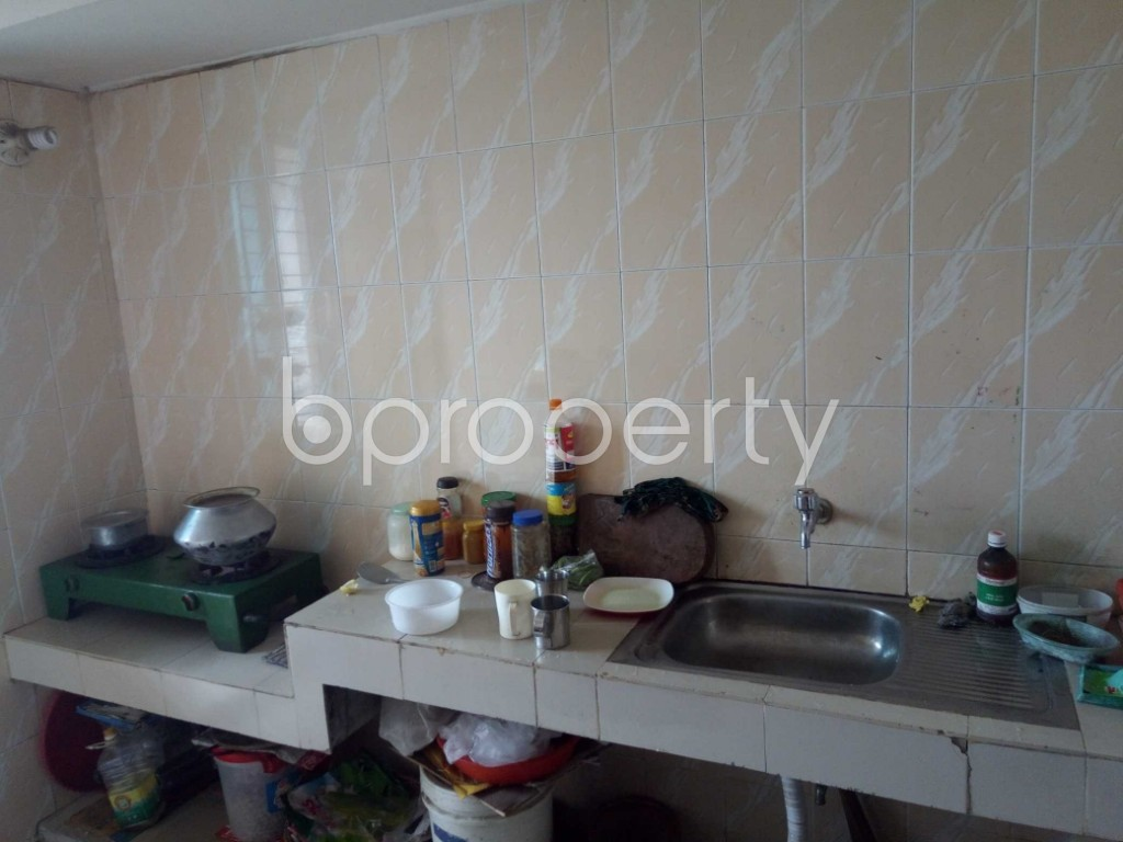 Kitchen - 3 Bed Apartment for Sale in Dhanmondi, Dhaka - 1900841