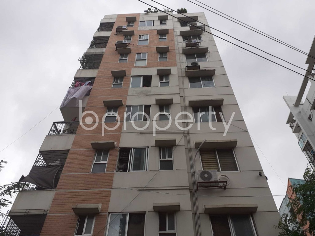 Front view - 3 Bed Apartment for Sale in Uttara, Dhaka - 1900866