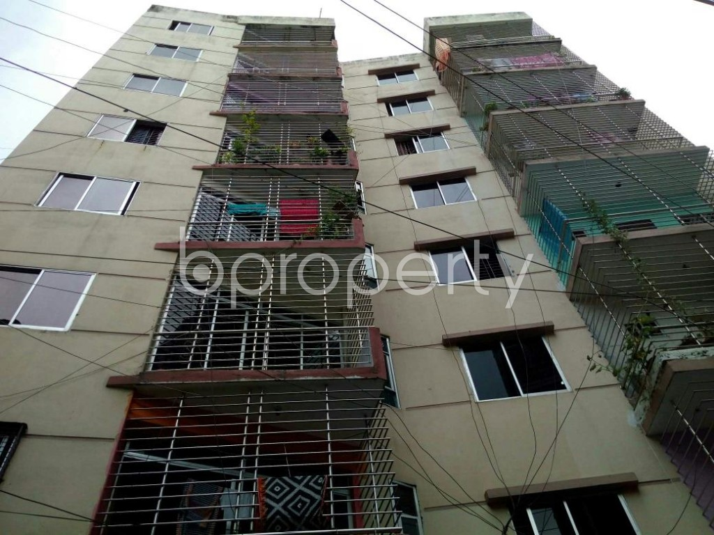 Front view - 3 Bed Apartment for Sale in Dhanmondi, Dhaka - 1900895