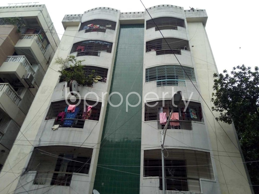 Front view - 3 Bed Apartment for Sale in Uttara, Dhaka - 1900907