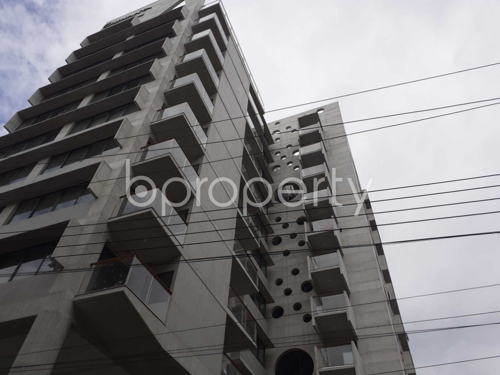 Outside view - 3 Bed Apartment to Rent in Banani, Dhaka - 1900916