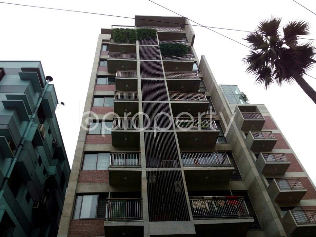 Front view - 3 Bed Apartment for Sale in Dhanmondi, Dhaka - 1900955