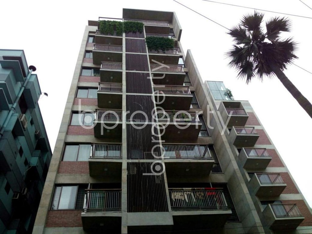 Front view - 3 Bed Apartment for Sale in Dhanmondi, Dhaka - 1901045