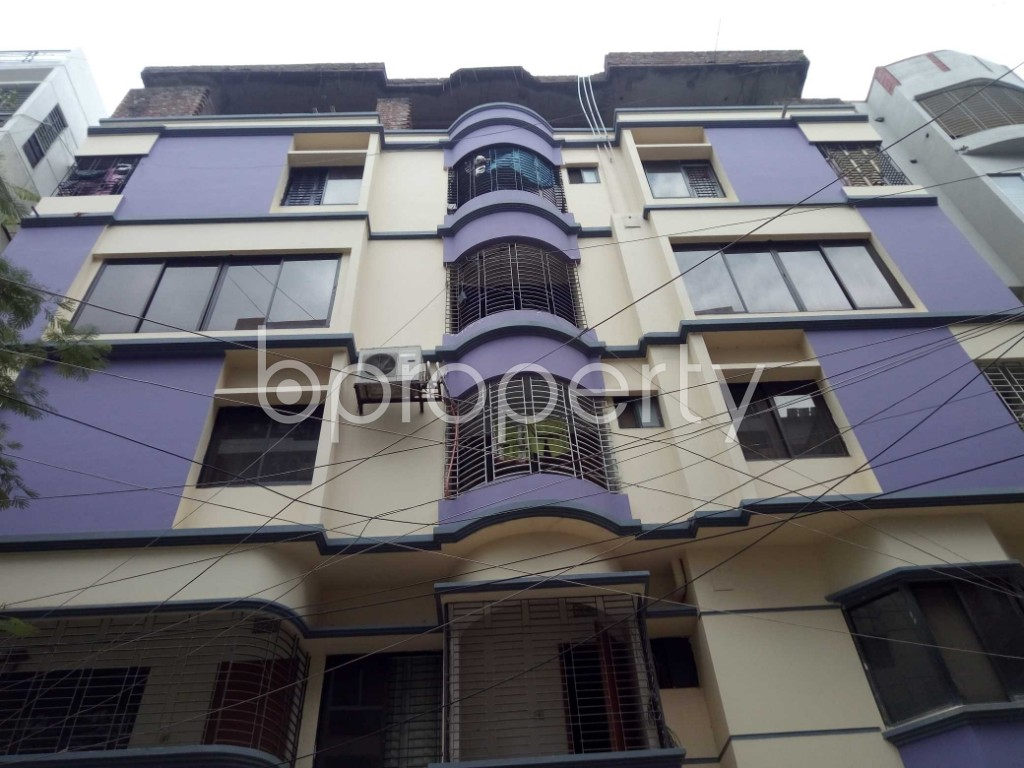 Front view - 3 Bed Apartment for Sale in Uttara, Dhaka - 1901299