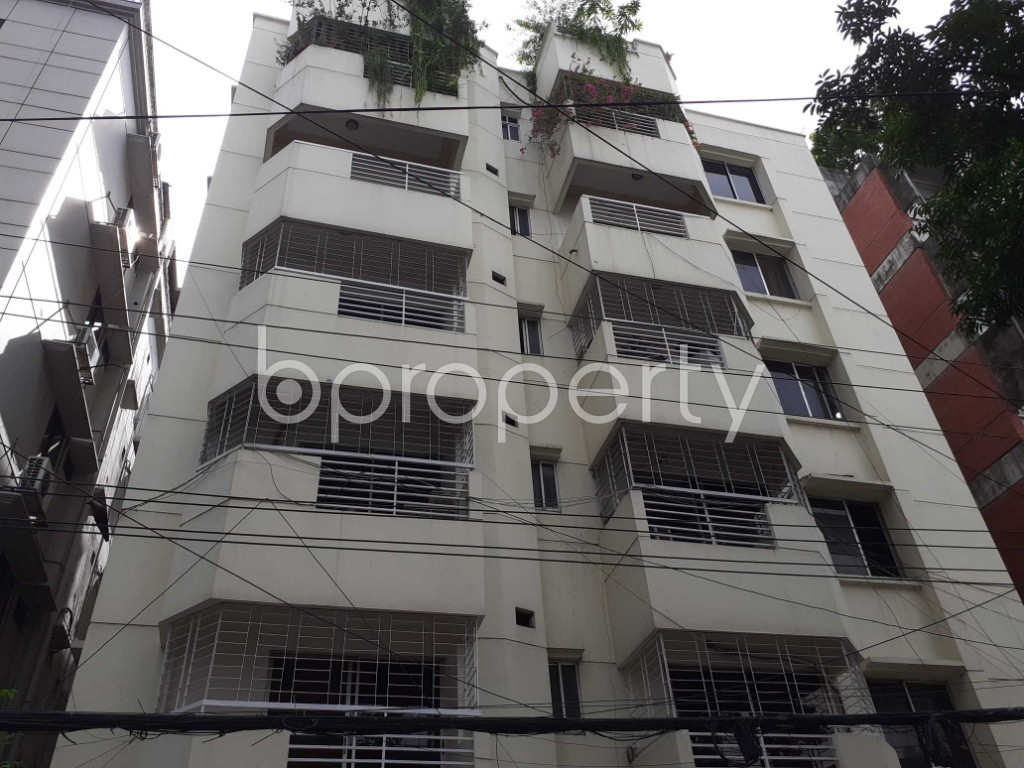 Front view - 3 Bed Apartment for Sale in Gulshan, Dhaka - 1901368