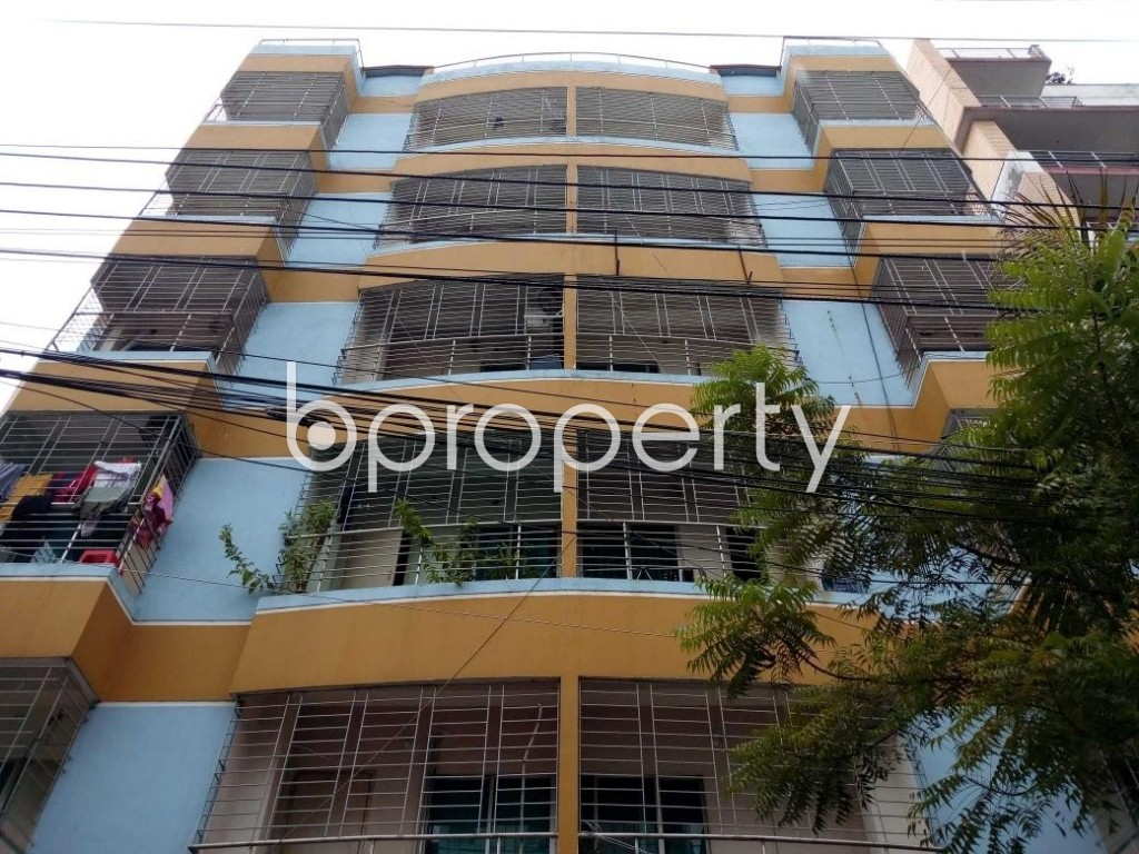 Front view - 3 Bed Apartment for Sale in Uttara, Dhaka - 1901296