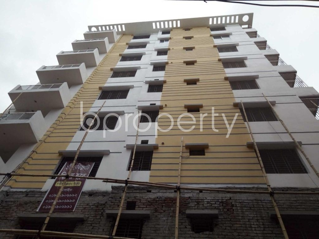 Front view - 3 Bed Apartment for Sale in Tejgaon, Dhaka - 1901539