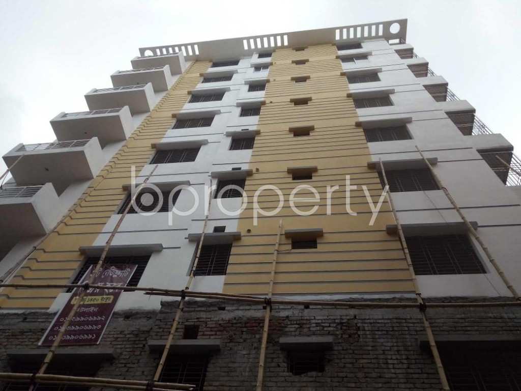 Front view - 3 Bed Apartment for Sale in Tejgaon, Dhaka - 1901540