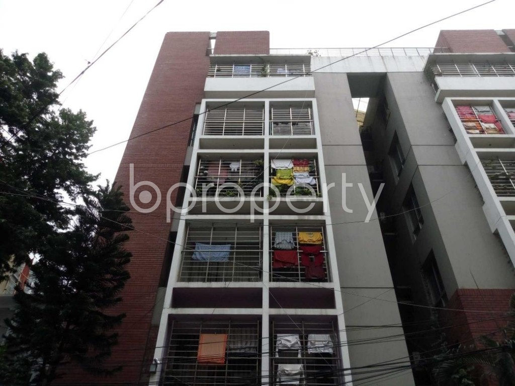 Front view - 3 Bed Apartment for Sale in Mohammadpur, Dhaka - 1901597