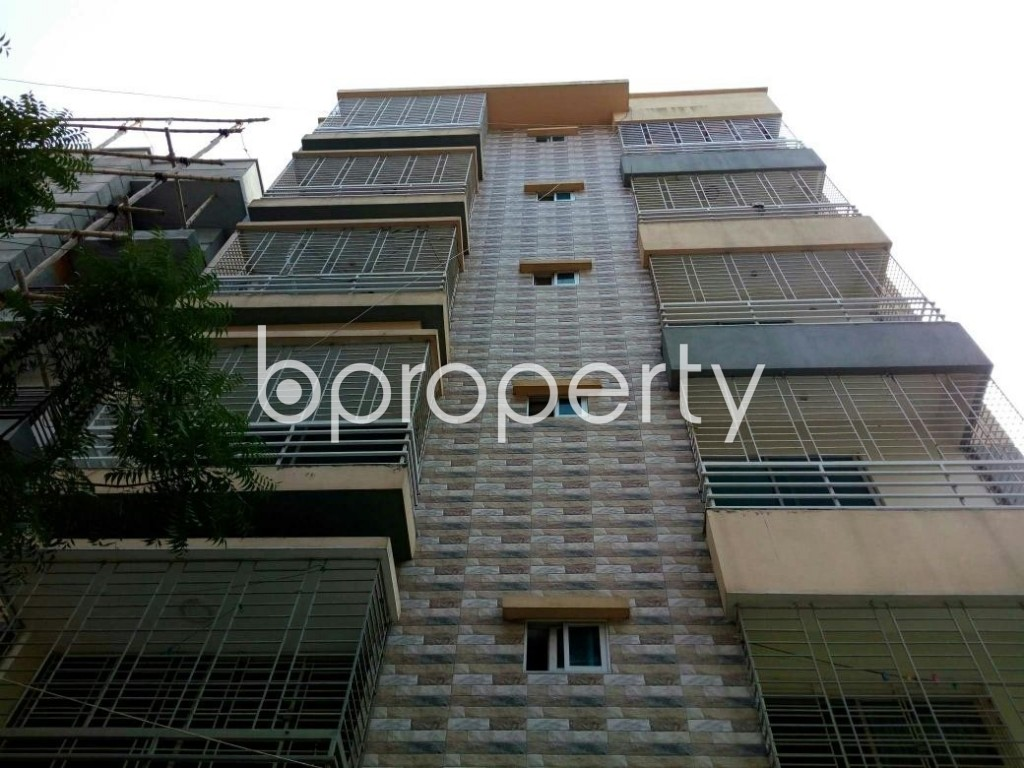 Front view - 4 Bed Apartment for Sale in Uttara, Dhaka - 1901615