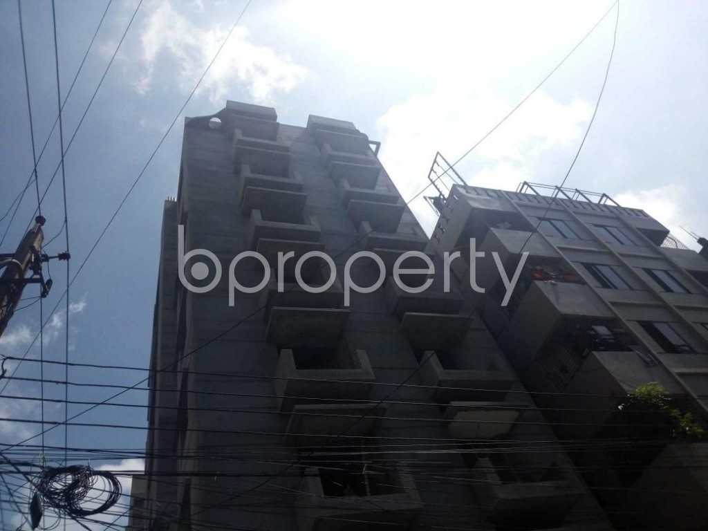 Front view - 3 Bed Apartment for Sale in Uttara, Dhaka - 1901710