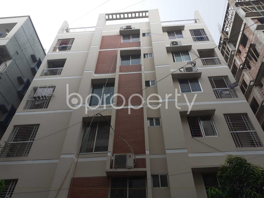Front view - 3 Bed Apartment for Sale in Uttara, Dhaka - 1901917