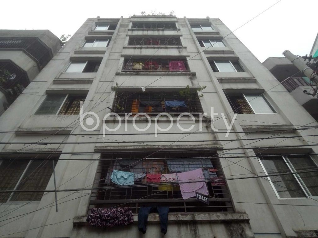 Front view - 2 Bed Apartment for Sale in Mirpur, Dhaka - 1902053