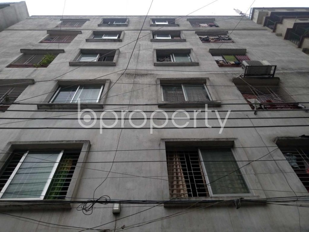 Front view - 2 Bed Apartment for Sale in Mirpur, Dhaka - 1902144