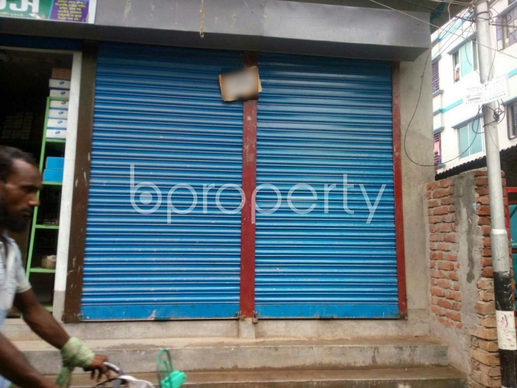 Front view - Shop to Rent in Jatra Bari, Dhaka - 1902230