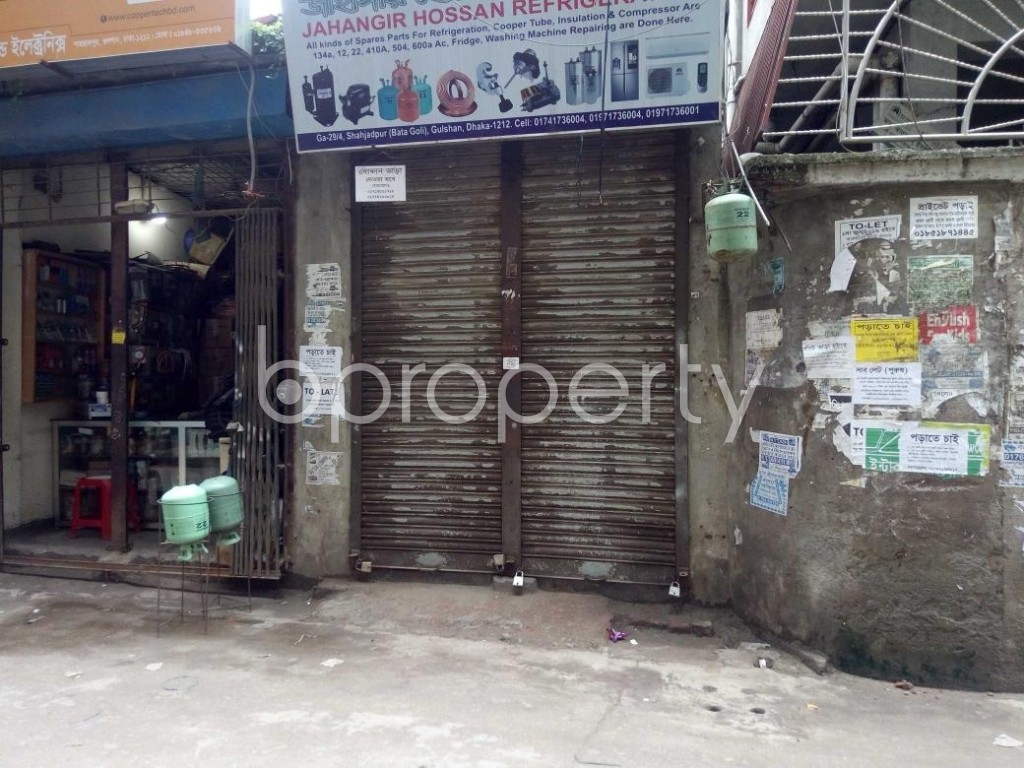 Front view - Shop to Rent in Badda, Dhaka - 1902276