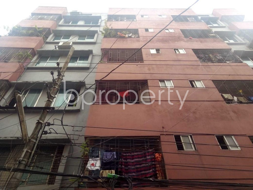 Front view - 2 Bed Apartment for Sale in Mirpur, Dhaka - 1902286