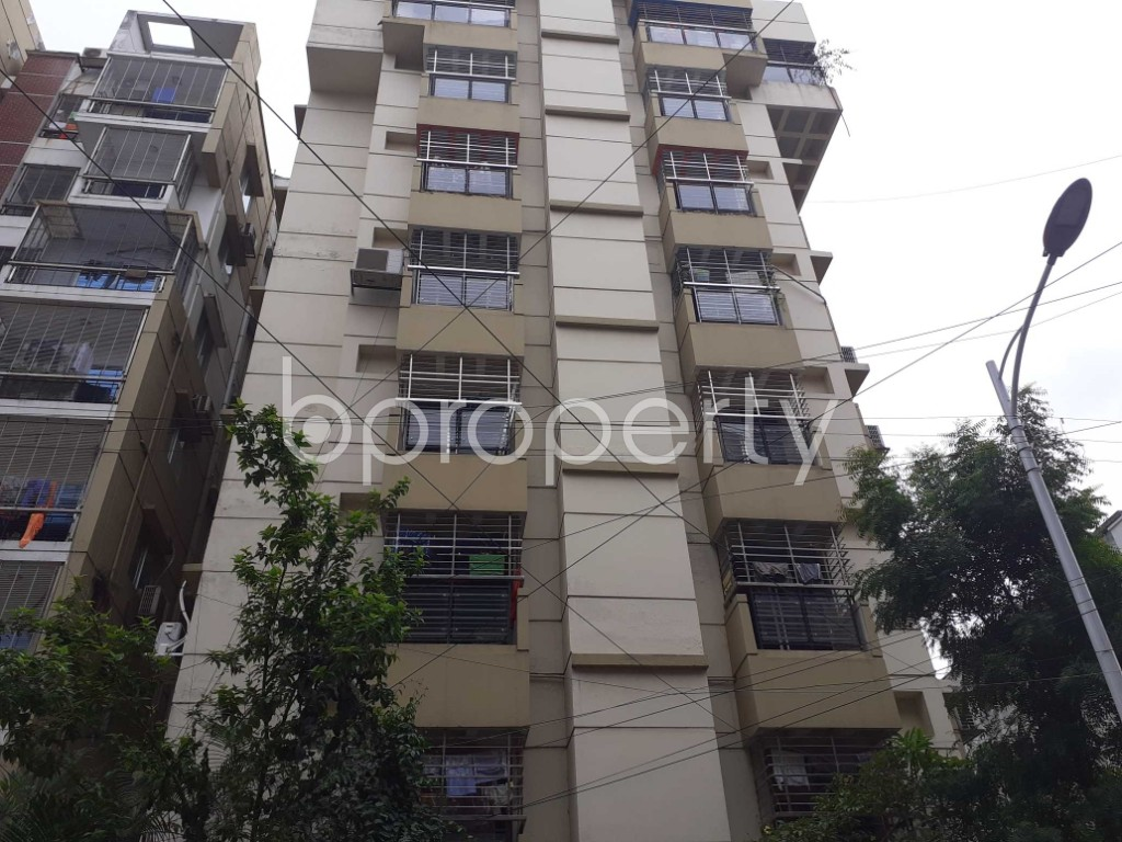 Front view - 4 Bed Apartment for Sale in Uttara, Dhaka - 1902301