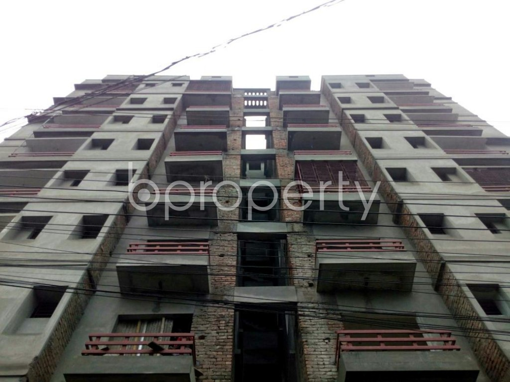 Front view - 3 Bed Apartment for Sale in Bagichagaon, Cumilla - 1902320