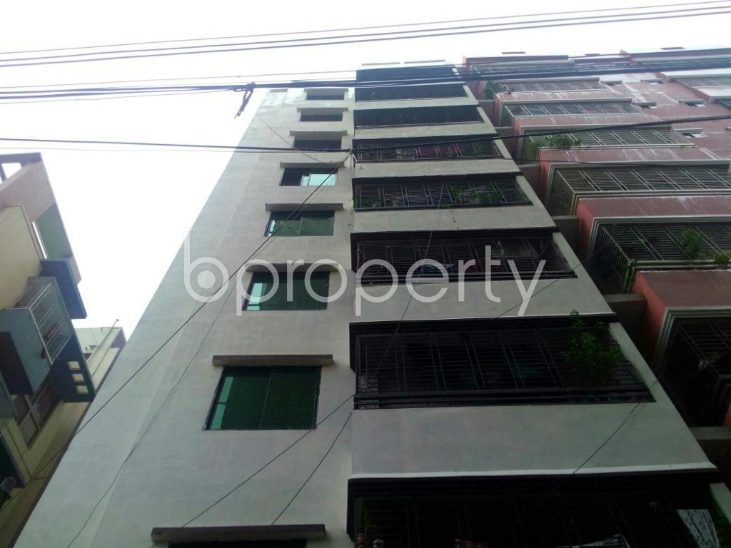 Front view - 3 Bed Apartment for Sale in Bagichagaon, Cumilla - 1902321