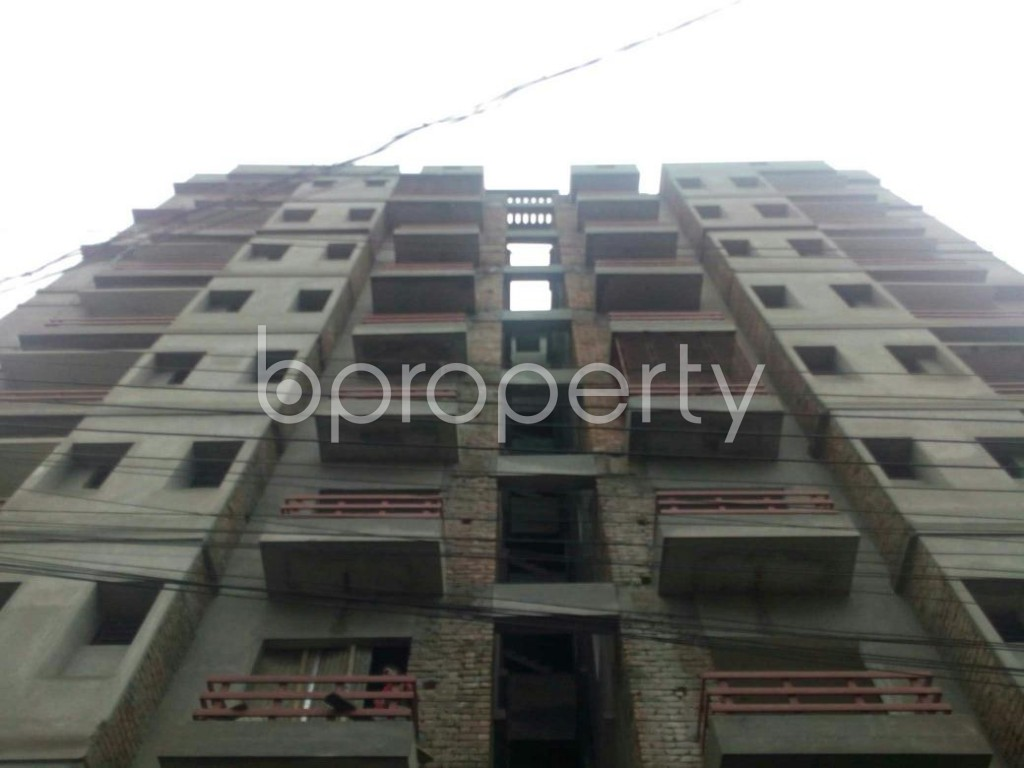 Front view - 3 Bed Apartment for Sale in Bagichagaon, Cumilla - 1902322
