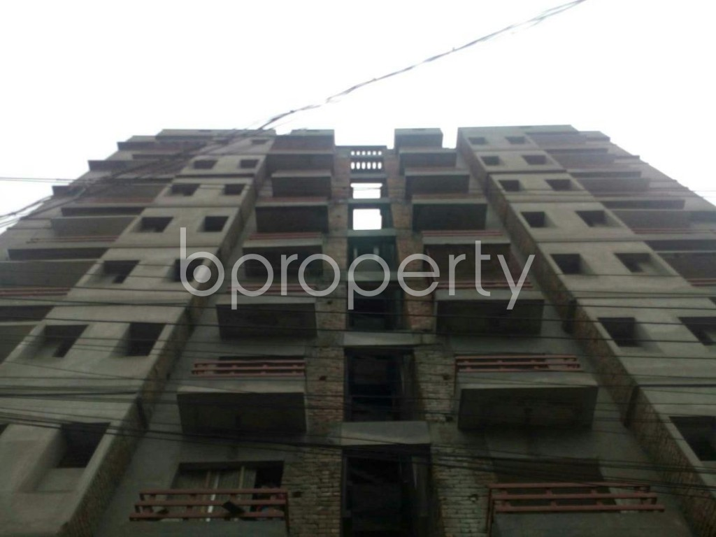 Front view - 3 Bed Apartment for Sale in Bagichagaon, Cumilla - 1902323