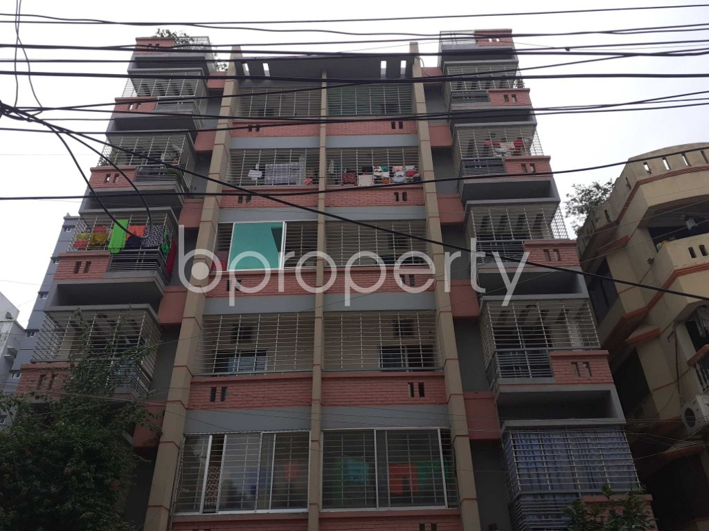 Front view - 3 Bed Apartment for Sale in Uttara, Dhaka - 1902336