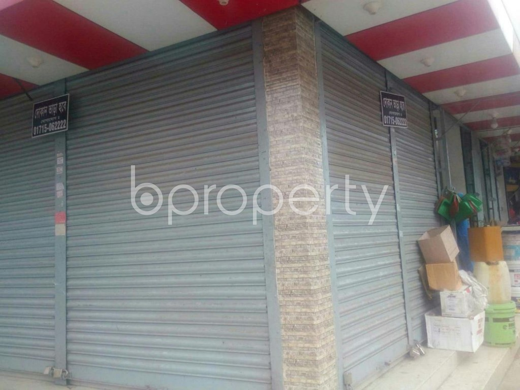 Outside view - Shop to Rent in Malibagh, Dhaka - 1902365