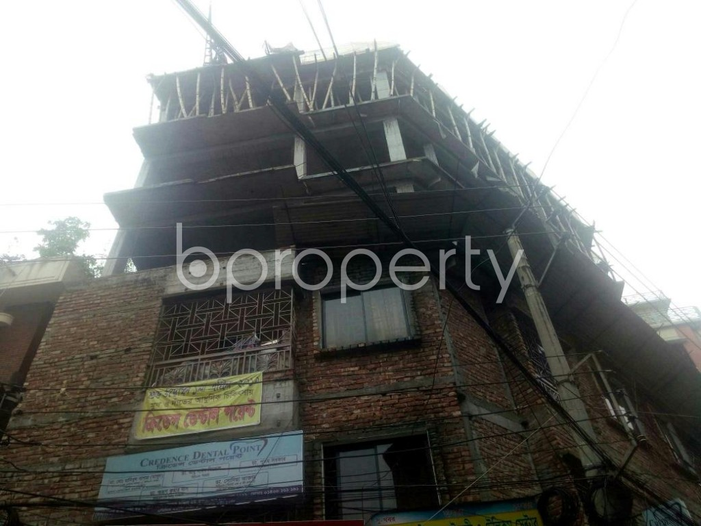 Front view - Shop to Rent in Rampura, Dhaka - 1902432
