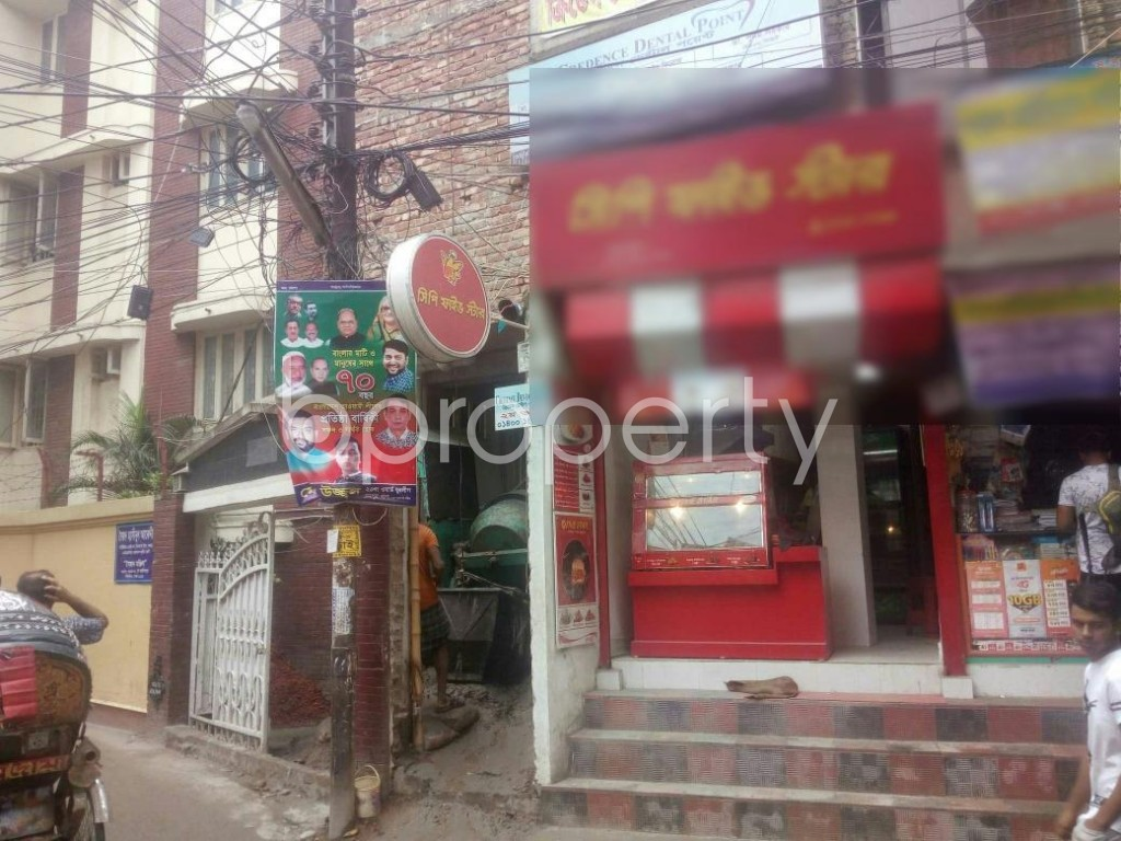 Outside view - Shop to Rent in Rampura, Dhaka - 1902441