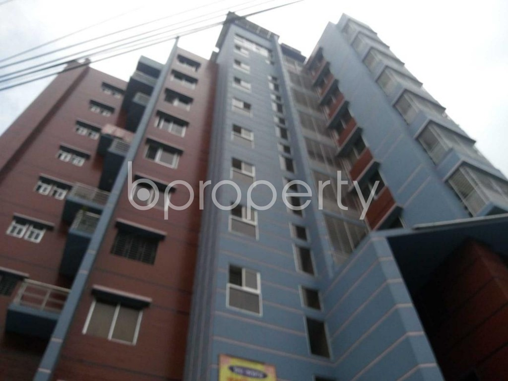 Front view - 3 Bed Apartment for Sale in Ibrahimpur, Dhaka - 1902447
