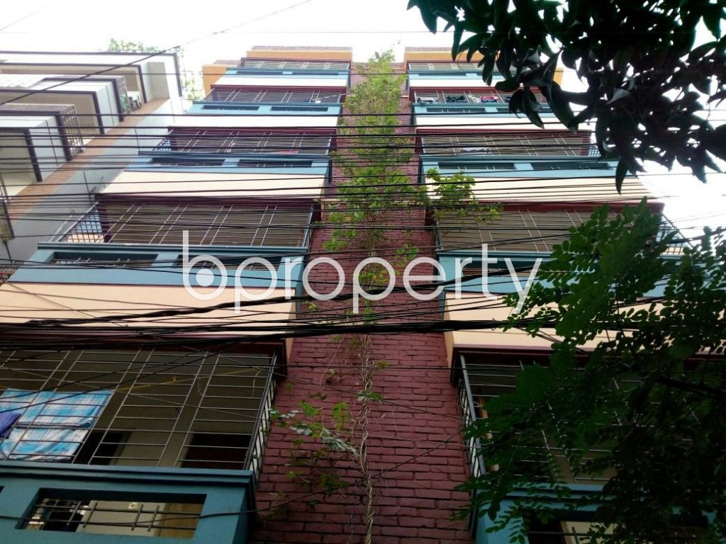 Front view - 3 Bed Apartment for Sale in Uttara, Dhaka - 1902486