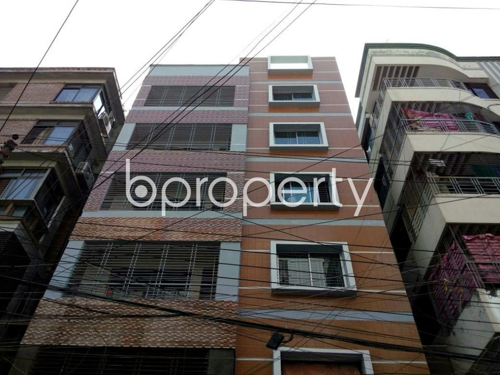Front view - 3 Bed Apartment for Sale in Uttara, Dhaka - 1902580