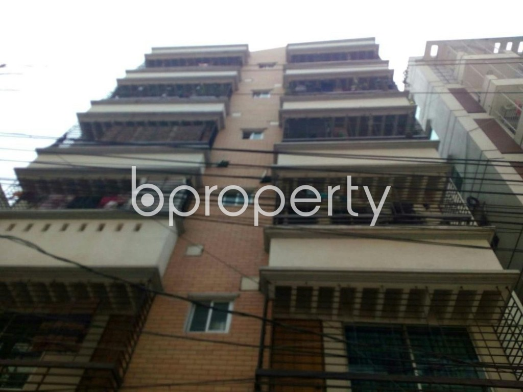 Front view - 2 Bed Apartment for Sale in Uttara, Dhaka - 1902583