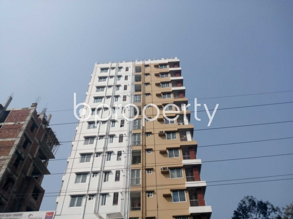 Front view - 3 Bed Apartment for Sale in Uttara, Dhaka - 1902631