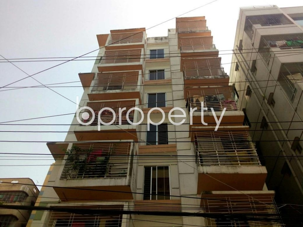 Front view - 3 Bed Apartment for Sale in Uttara, Dhaka - 1902649