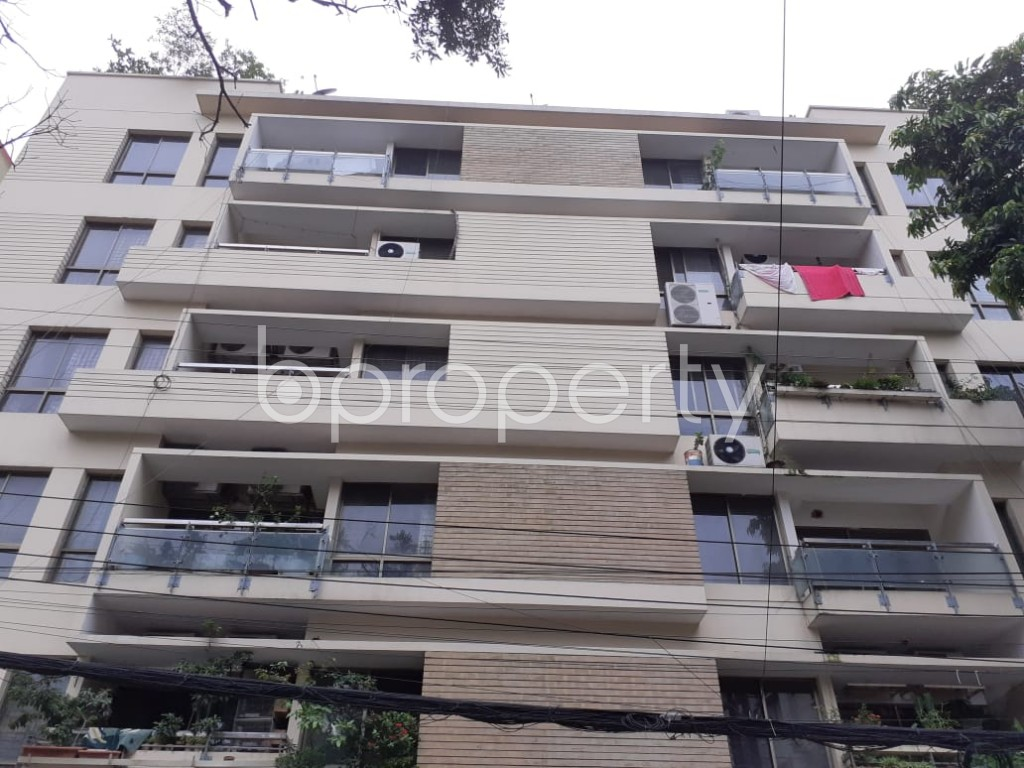 Front view - 3 Bed Apartment to Rent in Gulshan, Dhaka - 1902672